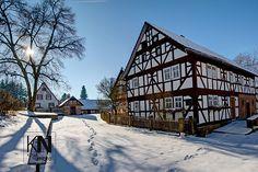Tann, Thüringen, Rhön, Germany