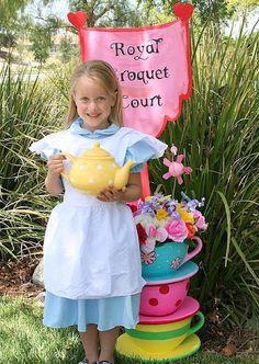 Alice in Wonderland Tea Party Sign