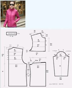 이미지 - Jumpsuits and Romper Romper Pattern, Bra Pattern, Jacket Pattern, Make Your Own Clothes, Diy Clothes, Fashion Sewing, Diy Fashion, Sewing Patterns Free, Clothing Patterns