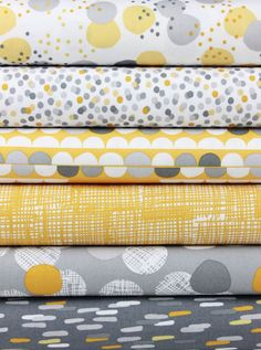 Lisa Tilse for Robert Kaufman, Light and Shade Earth in FAT QUARTERS 6 Total