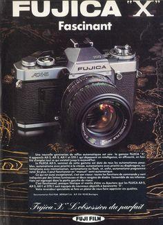 """""""Fujica X Fascinant"""" publié dans : Visuel d'actualité 80."""
