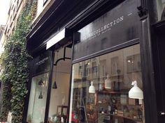 The Recollection Antwerpen Kloosterstraat 54 - concept store voor bloemen, mode en design