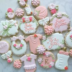 106 Best Baby Girl Cookies Images In 2019 Decorated Cookies Baby