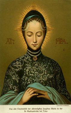 Virgin Mary in the Church of Mathias
