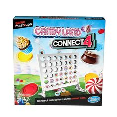 Game Mashups Candy Land Connect 4 Game (Target Exclusive) #Affiliate #Candy, #affiliate, #Mashups, #Game Fun Board Games, Fun Games For Kids, Indoor Activities For Kids, Games To Buy, Family Game Night, Family Games, Night Kids, Family Activities, Top Gifts For Kids