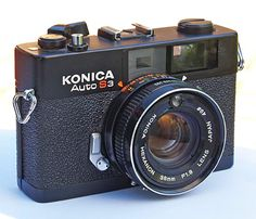 This is the 35mm rangefinder I have... Mine is a little more beat-up.