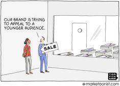 generational marketing | Marketoonist | Tom Fishburne