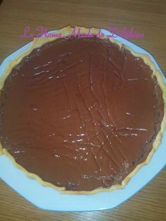 Le Home Made de Delphine: Tarte choco-caramel