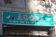 Panadería ÀGORA, Avda. Paral·lel, Barcelona.