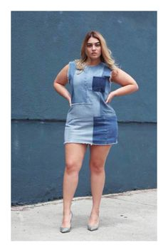 Luce muy sexy con tus vestidos de mezclilla #TiZKKAmoda #denim #look #vestido #dress #azul #zapatillas Stilettos, Pernas Sexy, Love S, Denim Skirt, Makeup, Skirts, Clothes, Style, Fashion