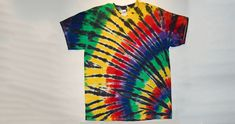 5 Easy Tie-dye Patterns for T-Shirts