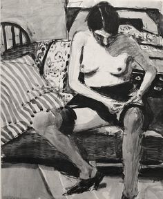 Richard Diebenkorn - drawing