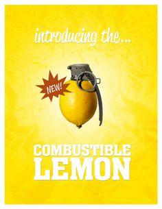 The Combustible Lemon by pherk.deviantart.com on @deviantART