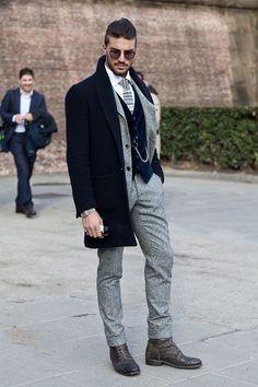Winter Inspiration. FOLLOW : Guidomaggi Shoes Pinterest | Guidomaggi Shoes Instagram Online Men's Clothes | Men's Shirts | Men's Jackets | Men's Jeans