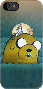 """The Marvelous Misadventures of Adventure Show"" iPhone & iPod Cases by Evert Van Houcke   Redbubble"
