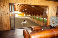 Nice Inside riding arena!