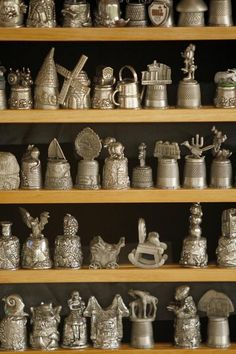 Antiques  Collectibles | Antiques and Collectibles: Fit for a Finger - Thimble Collection ...