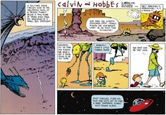 Calvin and Hobbes for July 28, 2013
