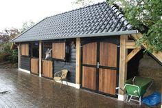 Horse Equestrian Wood Indoor Stables Barn