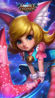 Nana Mobile Legends Hero Free Ultra HD Mobile Wallpaper - Best of Wallpapers for Andriod and ios Wallpaper Mobile Legends, Hero Wallpaper, Mobile Wallpaper, Hp Mobile, Mobile Game, Mobile Phones, Pink Mobile, Anime Angel Girl, Anime Art Girl