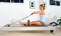 Pilates Reformer Exercise Instructions: The Rowings 1 and 2