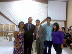 David Nascimento em Igreja Ora de Restauração