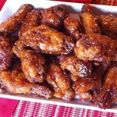 "Japanese Chicken Wings | ""Wow. Just wow. I can't get over how delicious these chicken wings were! I followed the recipe exactly and it came out perfect. My husband said that it was one of the best things I ever made and to make it again... and again. I'd pick this recipe over Wing Stop any day."""