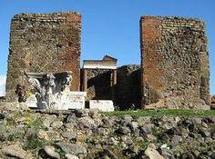 Temple of Fortuna Augusta - AD79eruption