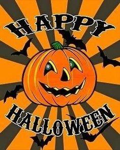 Retro Halloween, Vintage Halloween Posters, Holidays Halloween, Spooky Halloween, Happy Halloween, Halloween Decorations, Halloween Stuff, Halloween Pictures To Print, Halloween Frames