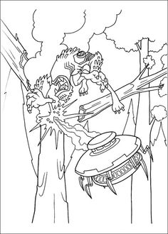 Ben 10 Coloring Page 29