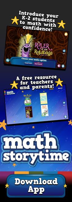 Math Storytime is a free resource for 5 to 7 year olds! #KindergartenBooks #FirstGradeBooks #SecondGradeBooks #KindergartenActivities #KindergartenClassroom #KindergartenTeacher #KindergartenResources #FirstGradeActivities #FirstGradeClassroom #FirstGradeTeacher #FirstGradeResources #SecondGradeActivities #SecondGradeClassroom #SecondGradeTeacher #SecondGradeResources