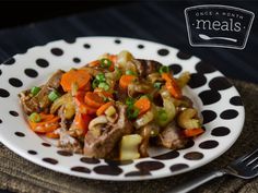 Steak and Winter Vegetable Stir Fry | Once A Month Meals | Freezer Cooking | OAMC