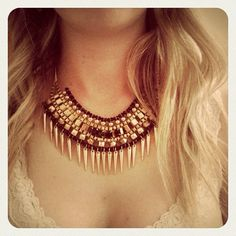 Maxi colar do dia @cellianaonline #fashion  #intafashion #trend #loveit