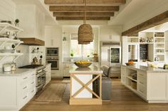 Modern Kitchen Design Rustic Beach House