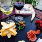 Afternoon Cheese Plate and Happy Hour Wine at Tessora's Barra di Vino in Downtown Campbell, CA