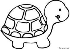 Free Print out sea animal Baby Turtle Coloring book Pages for pictures childrens