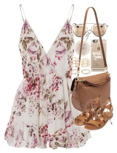 """""""Outfit for summer with an Effie satchel"""" by ferned on Polyvore featuring Casetify, WithChic, Christian Dior, Fendi, Mulberry, Topshop, Forever 21, women's clothing, women and female"""