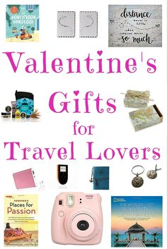 Valentine's Gifts For Travel Lovers. Valentines is soon here! Here is a list of hot travel gifts for everyone who loves travelling the world and combine the love of travelling and friendship!