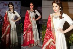 Rashi Khanna Silk Churidar - Indian Dresses
