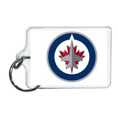 NHL Winnipeg Jets Acrylic Lucite Keychain x Nfl Sports, Jets, Nhl, Fighter Jets