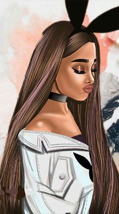 New Wall Paper Girly Queen Ideas Ariana Grande Linda, Ariana Grande Anime, Adriana Grande, Ariana Grande Drawings, Ariana Grande Pictures, Ariana Grande Ponytail, Ariana Grande Tumblr, Wallpaper Ariana Grande, Ariana Grande Background