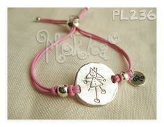Bracelets for princess. Jewerly personilized with the draws of your kids.