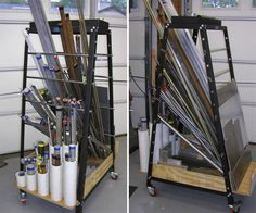 Shop Made Tools - Page 95 - stock storage rack