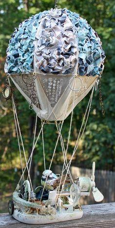 Hot Air balloon by Heidi Kelley for Prima using Craftsman