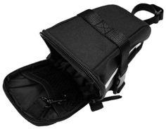 BV Bicycle Strap-On Saddle Bag Seat Bag