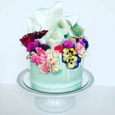 """""""This #cake blows my mind. Not only for the beautiful details of #chocolate…"""