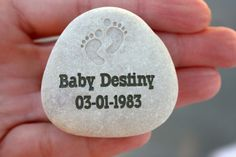 Angel Baby Healing Stone - Miscarriage and Infant loss memorial stone