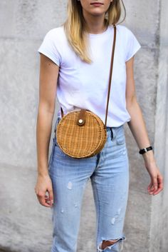 Why straw bag is a must have this season; katiquette