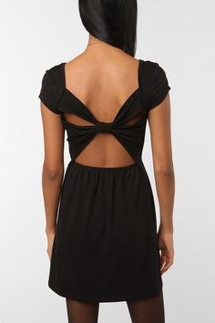 love the back of this dress from Urban!