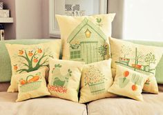 Home Grown - Available in CrossStitcher Magazine 278